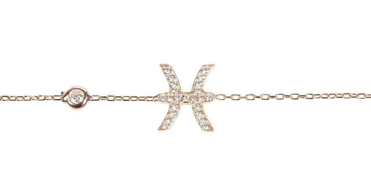 Latelita London Pisces Zodiac Bracelet Silver NCGQKJl1n