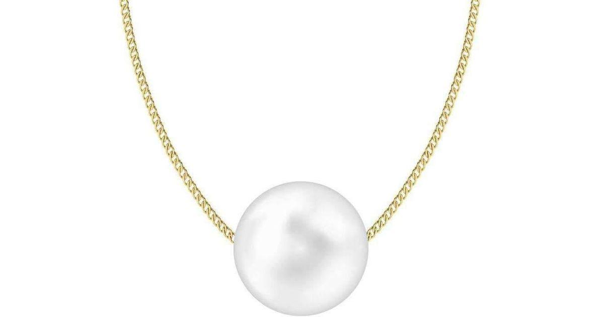 StyleRocks South Sea Pearl Pendant on Sterling Silver Chain ZlzDEa