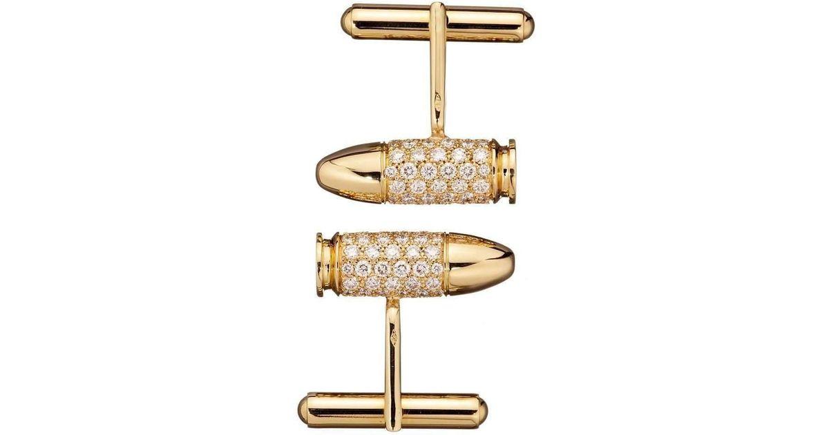 Akillis Bang Bang Rose Gold Cufflinks XV044jeJ9C