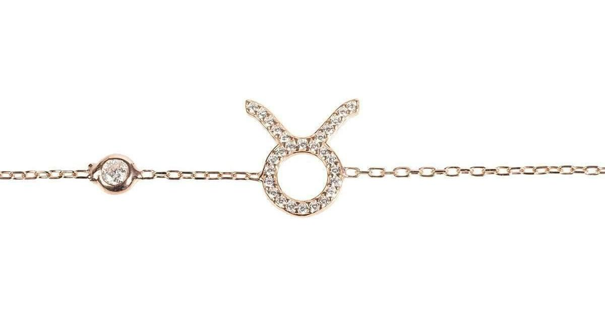 Latelita London Taurus Zodiac Bracelet Gold qPBZRo