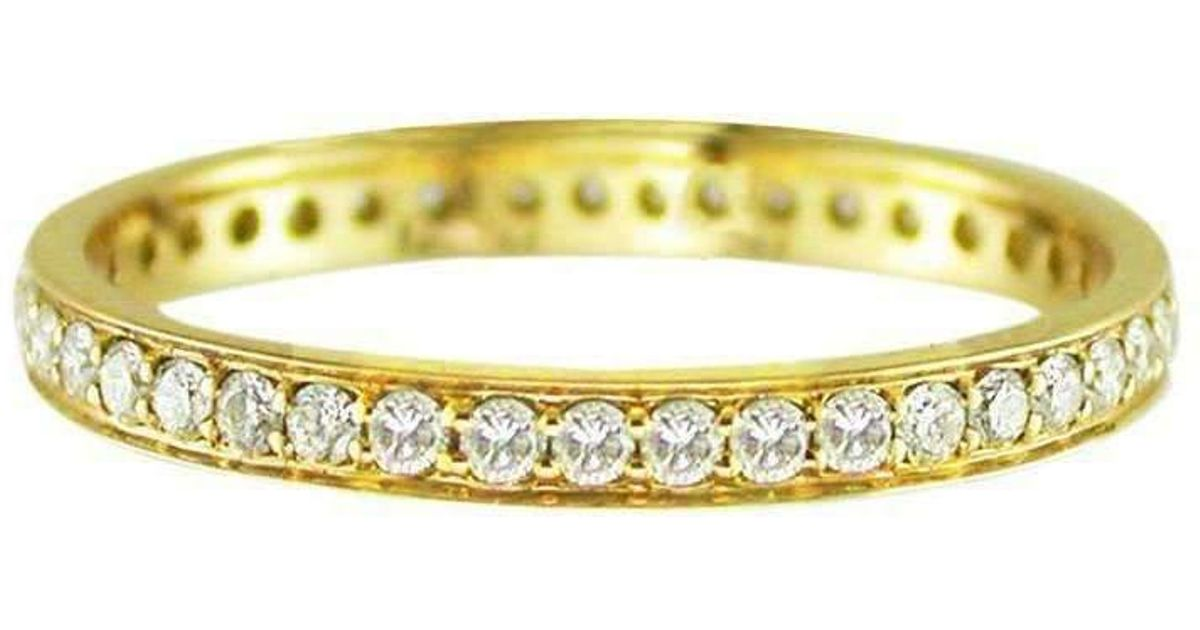 London Road Jewellery Portobello Yellow Gold Raindrop Diamond Stacking Rings - UK L - US 5 1/2 - EU 51 3/4 uNzD3WZ5c8
