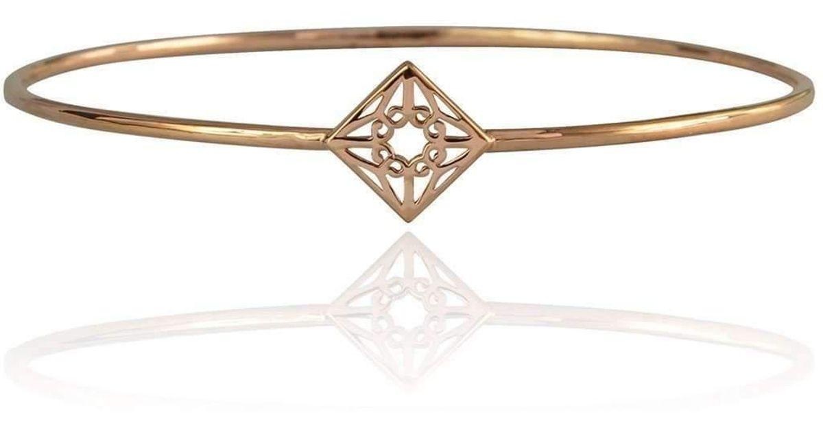 Zefyr Lao Bangle Rose Gold - Medium (65mm diameter) dRIUkDF