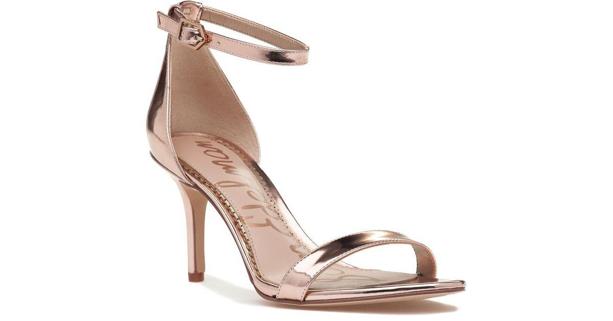 Patti Sandal Rose Gold Metallic