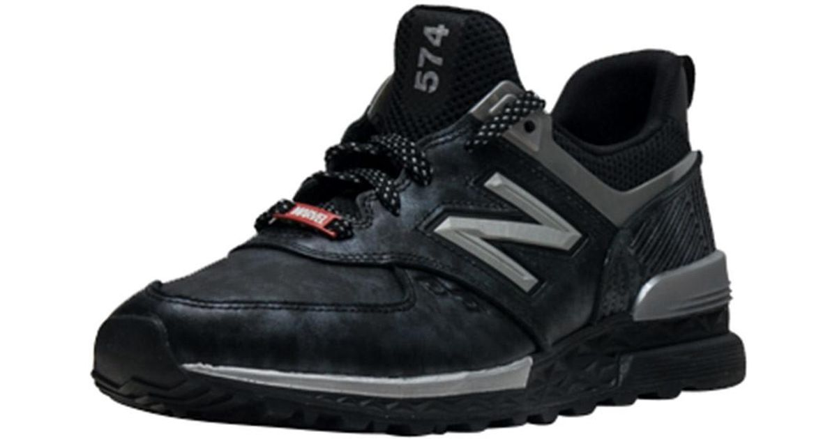 detailed look ab239 c87c4 New Balance 574 Sport Black Panther for men