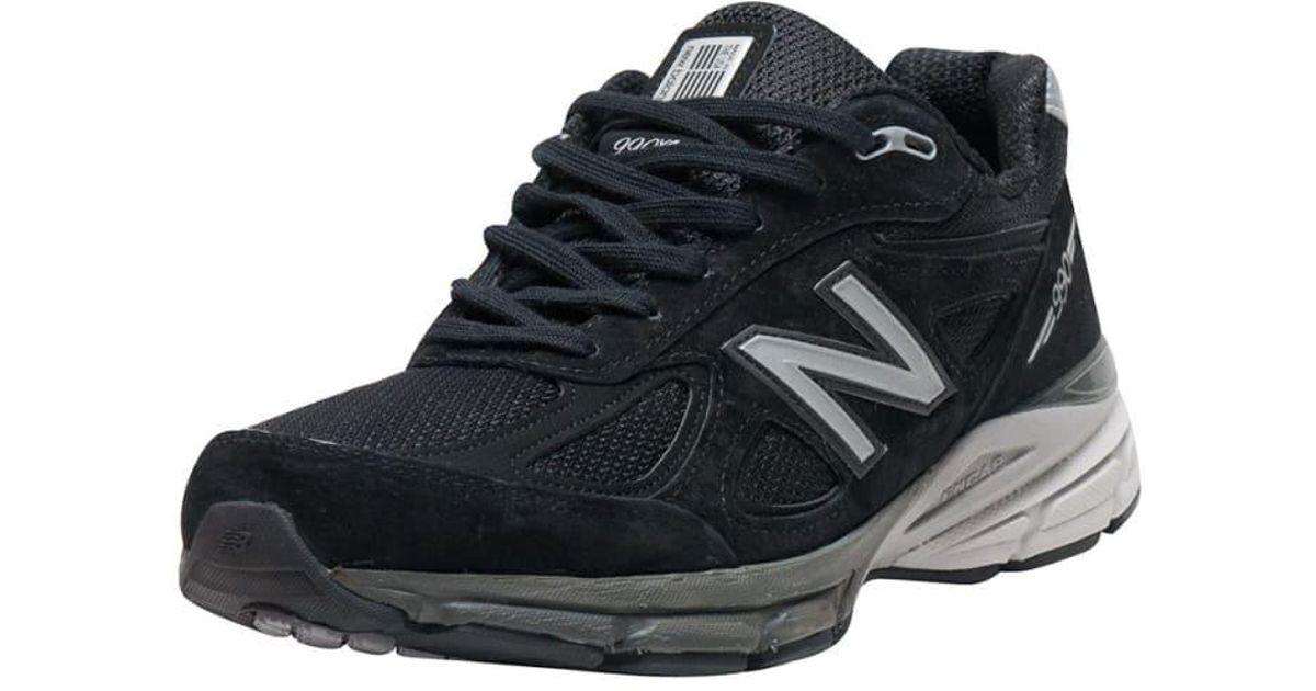 reputable site 80f69 a6b6e New Balance - Black 990 Running Sneaker for Men - Lyst