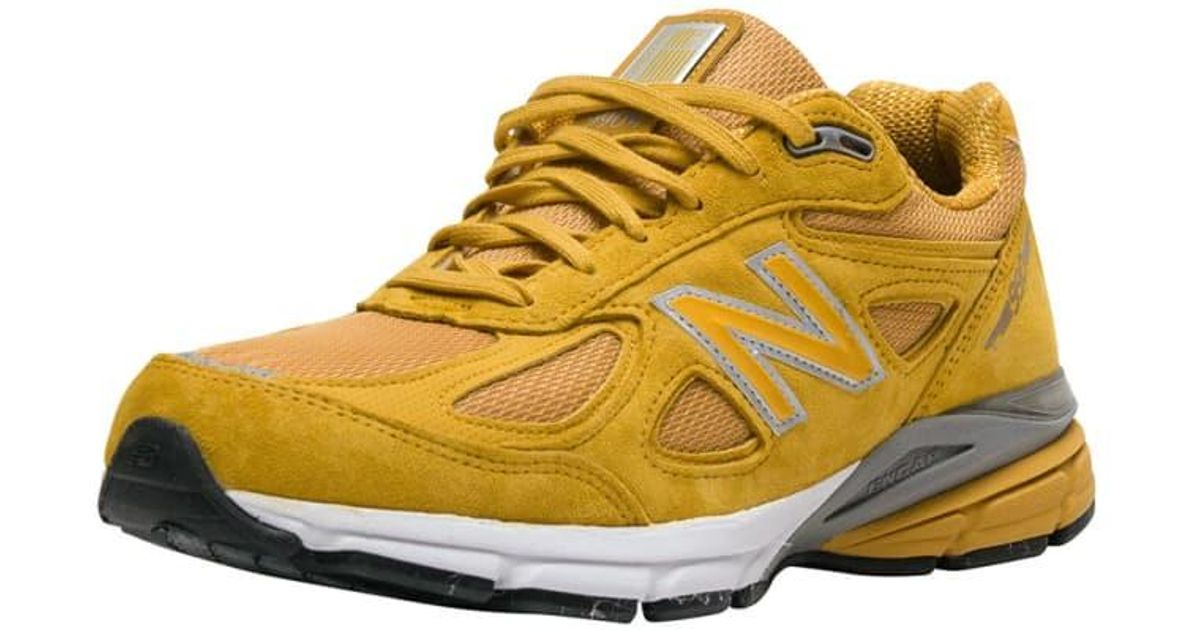 cheap for discount 06115 9a18f New Balance Yellow 990 Running Sneaker for men