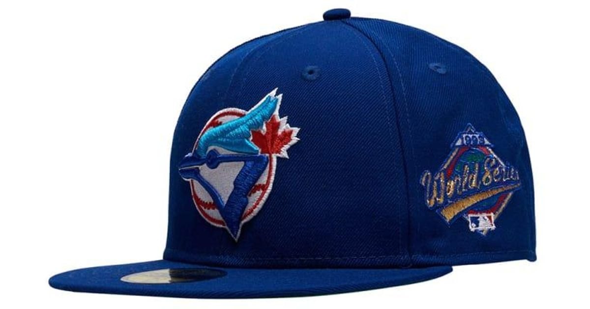 huge selection of 50e30 f36dc KTZ 93 Toronto Blue Jays Fitted in Blue for Men - Lyst