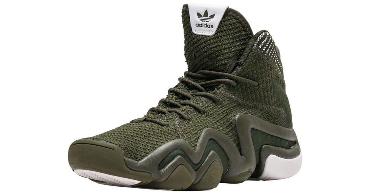 best website 57d87 042b4 adidas Crazy 8 Adv Pk in Green for Men - Lyst