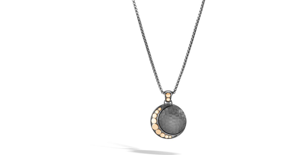 John Hardy Moon Phase Hammered Station Necklace ibF51I