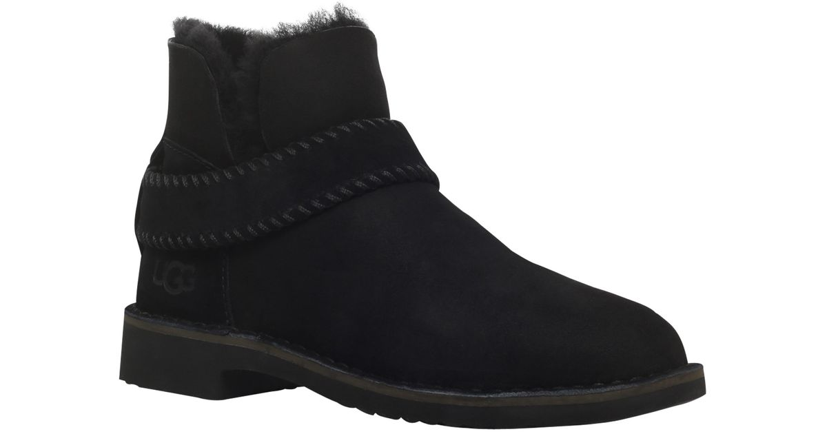 19ff552cc25 UGG Black Mckay Ankle Boots