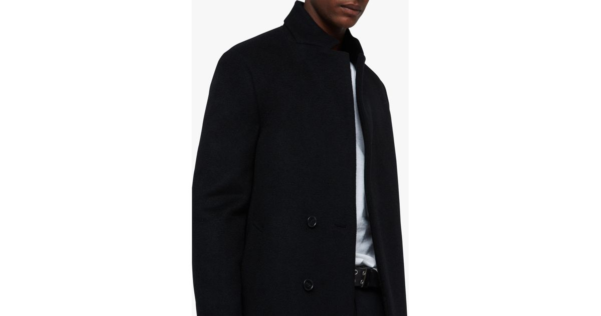 exceptional range of styles and colors forefront of the times hot-selling authentic AllSaints Wool Dowth Coat in Black for Men - Lyst