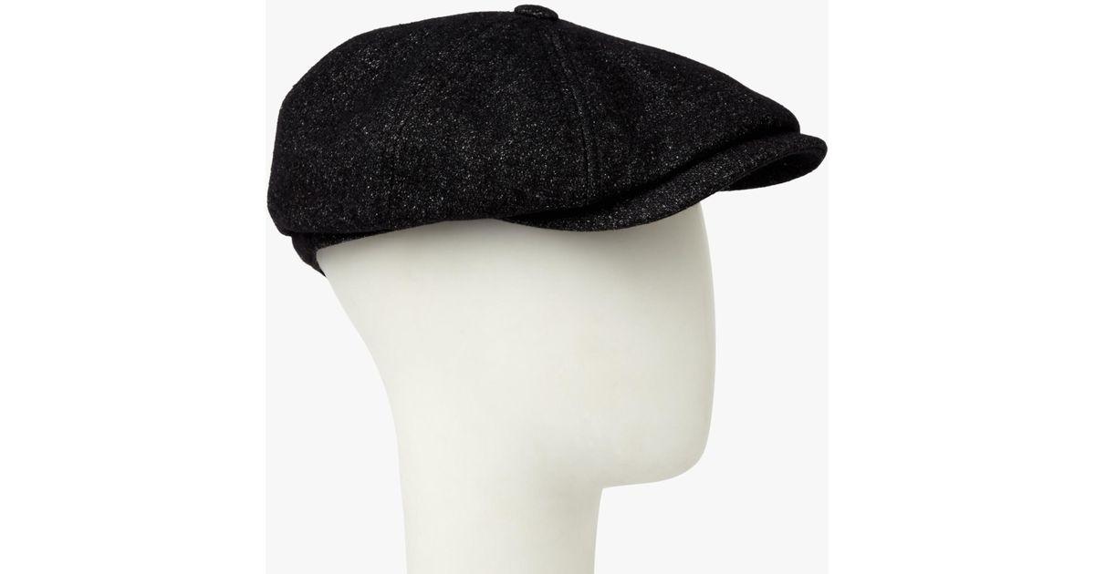e2d53313a66 Ted Baker Gladstn Wool Blend Baker Boy Cap for Men - Lyst