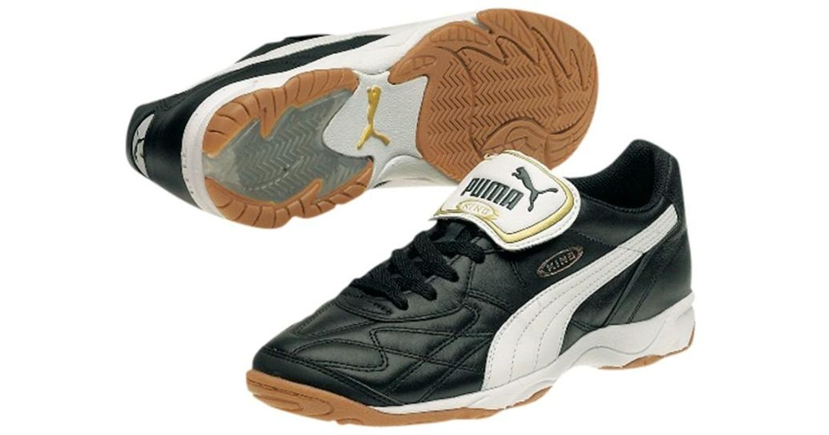 5cf070e7c1e5c PUMA King Indoor Football Trainers in White for Men - Lyst