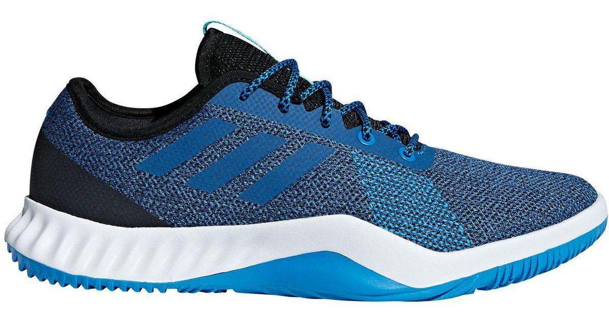 Adidas Blue Crazytrain Lt Men's Training Shoes for men