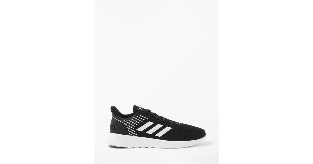 new style 6e043 9968c adidas Asweerun Mens Running Shoes in Black for Men - Lyst