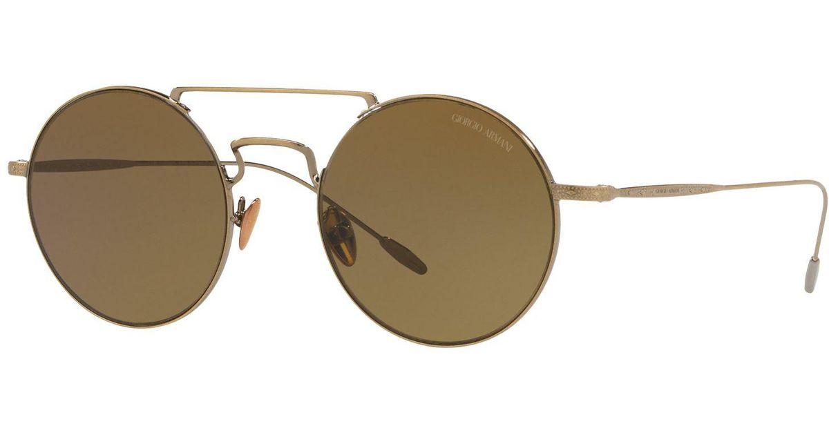 757626d66af4 Giorgio Armani Sunglasses, Ar6072 in Brown for Men - Lyst