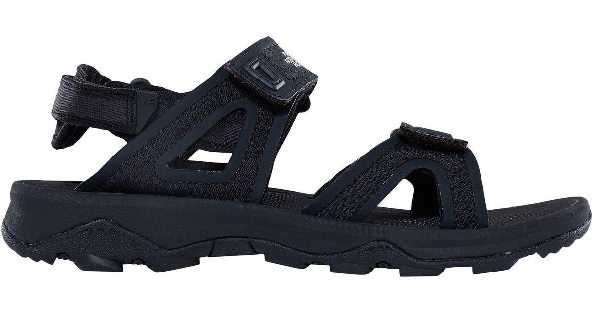 0746163eb The North Face Black Hedgehog 2 Men's Walking Sandals for men