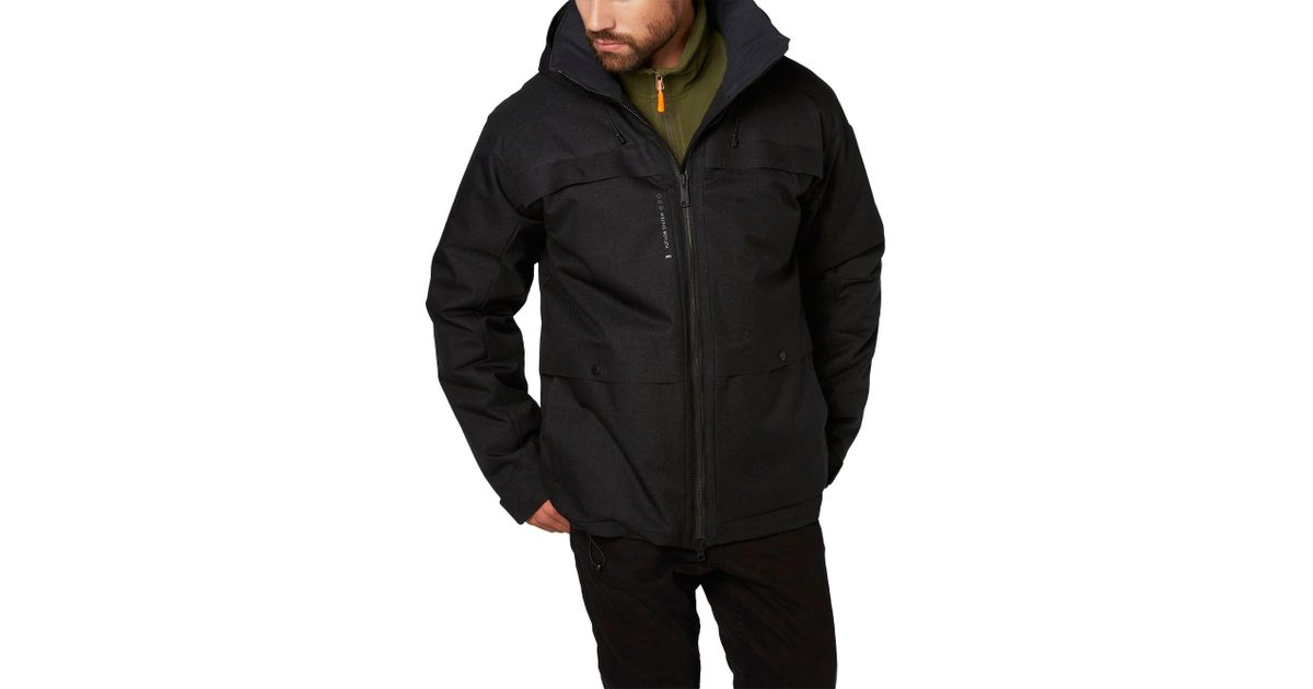 world-wide free shipping usa cheap sale exclusive shoes Helly Hansen Synthetic Arctic Chill Men's Parka in Black for ...