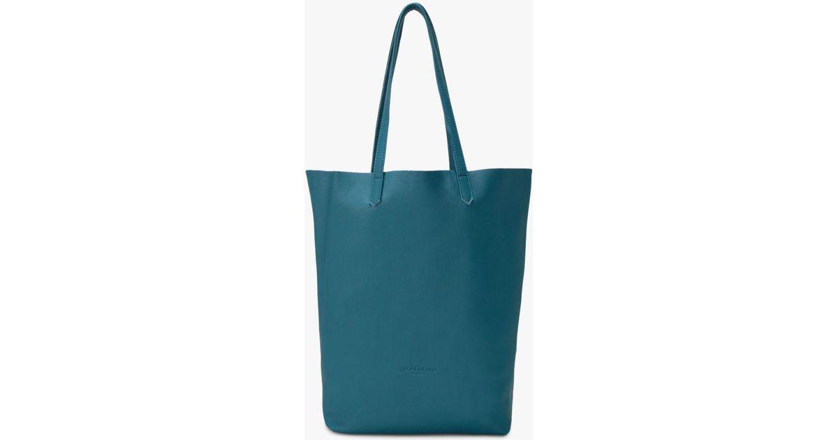 a9b072d825 Liebeskind Berlin Viki Leather Shopper Bag in Green - Lyst