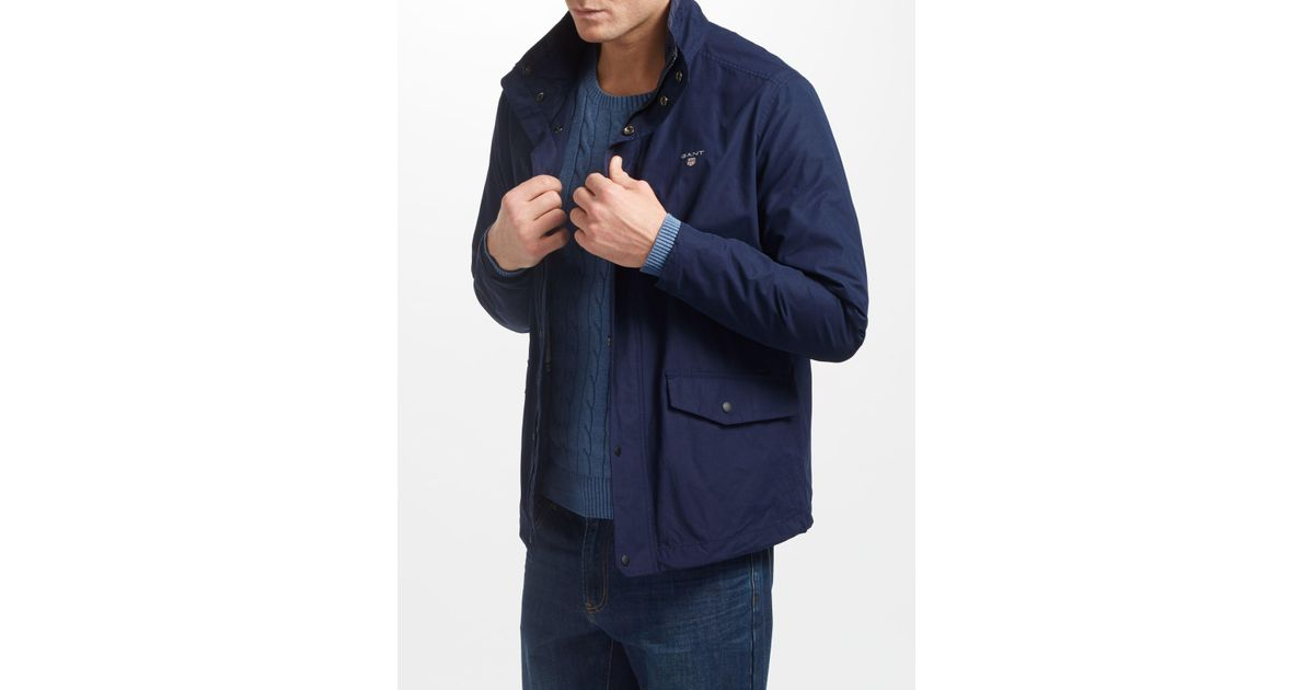 f3d66619f Gant Blue Shore Jacket for men