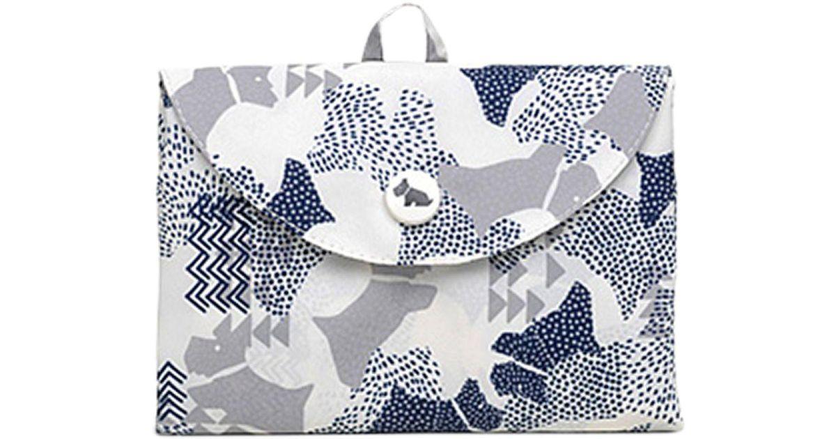 fbd70a94c658 Radley Dog Foldaway Tote Bag in White - Lyst