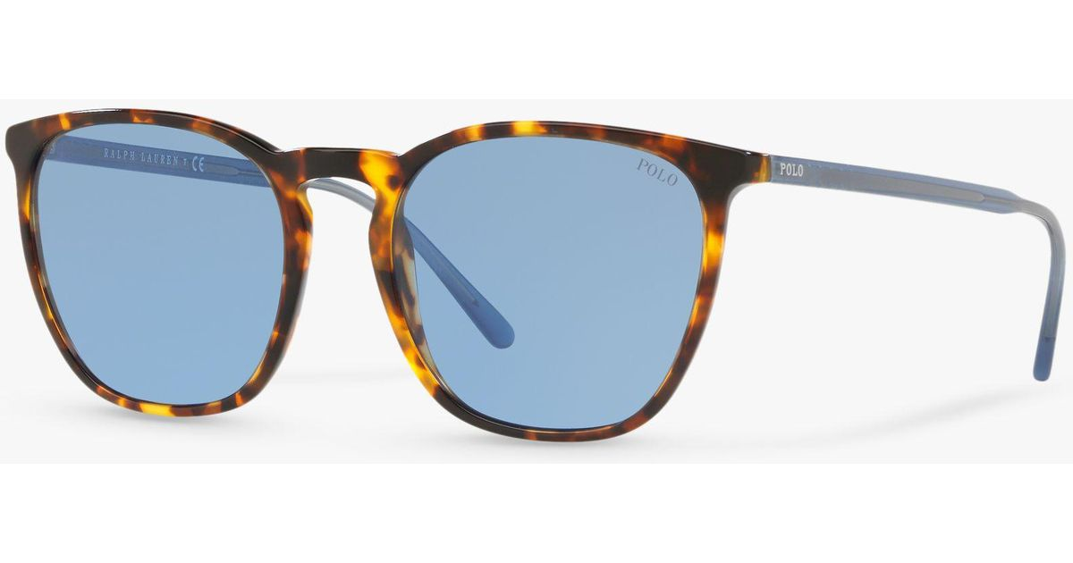 Ralph Lauren Polo Ph4141 Women s Sunglasses in Blue - Lyst 6c27c60c04