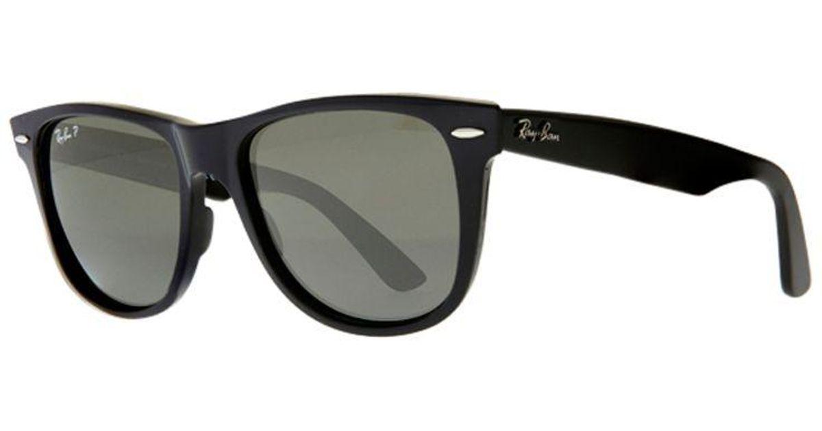 e38ddad5b0d4 Ray-Ban Rb2140 Large Polarised Original Wayfarer Sunglasses in Black for  Men - Lyst