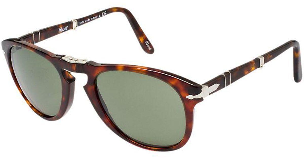 31b7ca7fa6 Persol Po0714 Suprema Folding Sunglasses in Brown for Men - Lyst