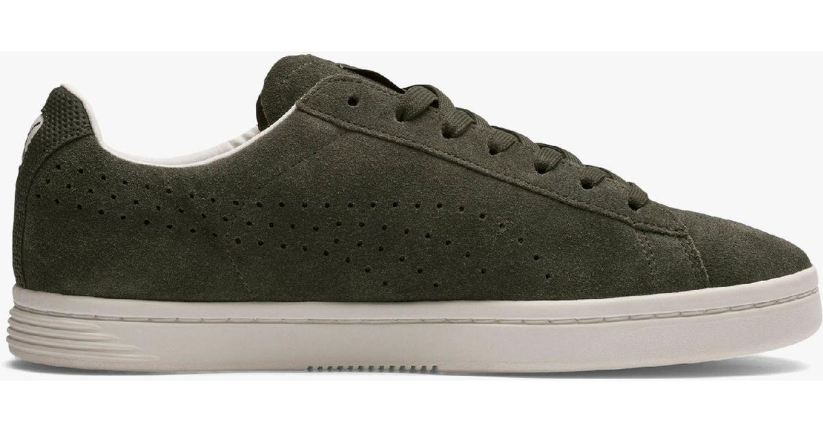 cheap for discount ac65b 79e37 PUMA Court Star Suede Interest Men s Trainers in Green for Men - Lyst