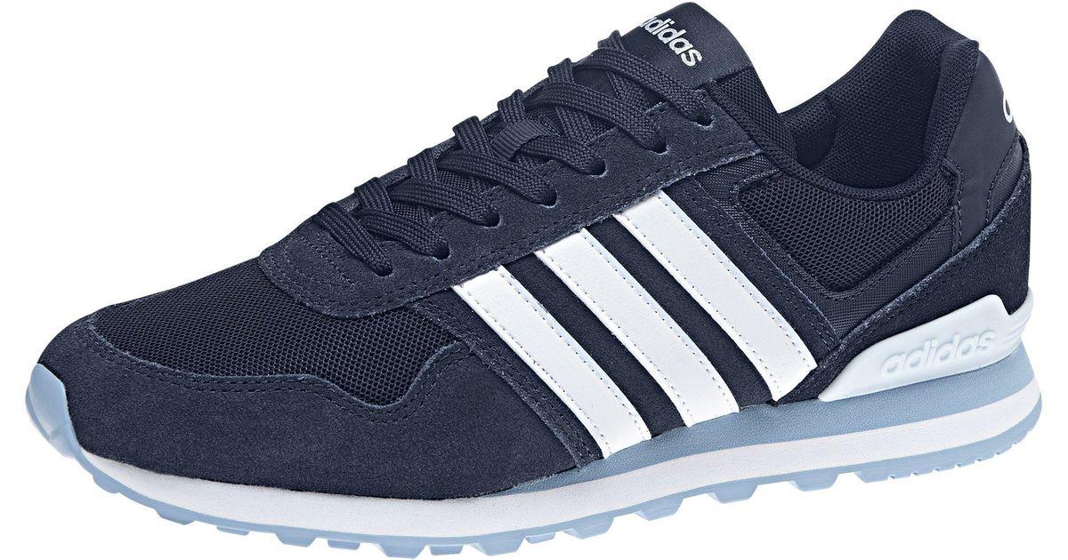 Trainers Blue 10k Neo Women's Adidas Casual mnPNwvOy80