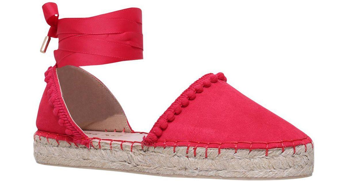 0bb78a873f2 Miss Kg Pink Dizzy Ankle Tie Espadrilles