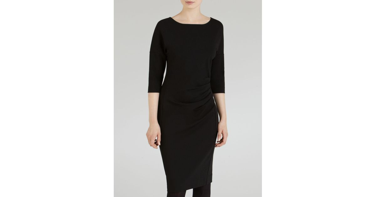 3b51f30577222 John Lewis Winser London Miracle Dress in Black - Lyst
