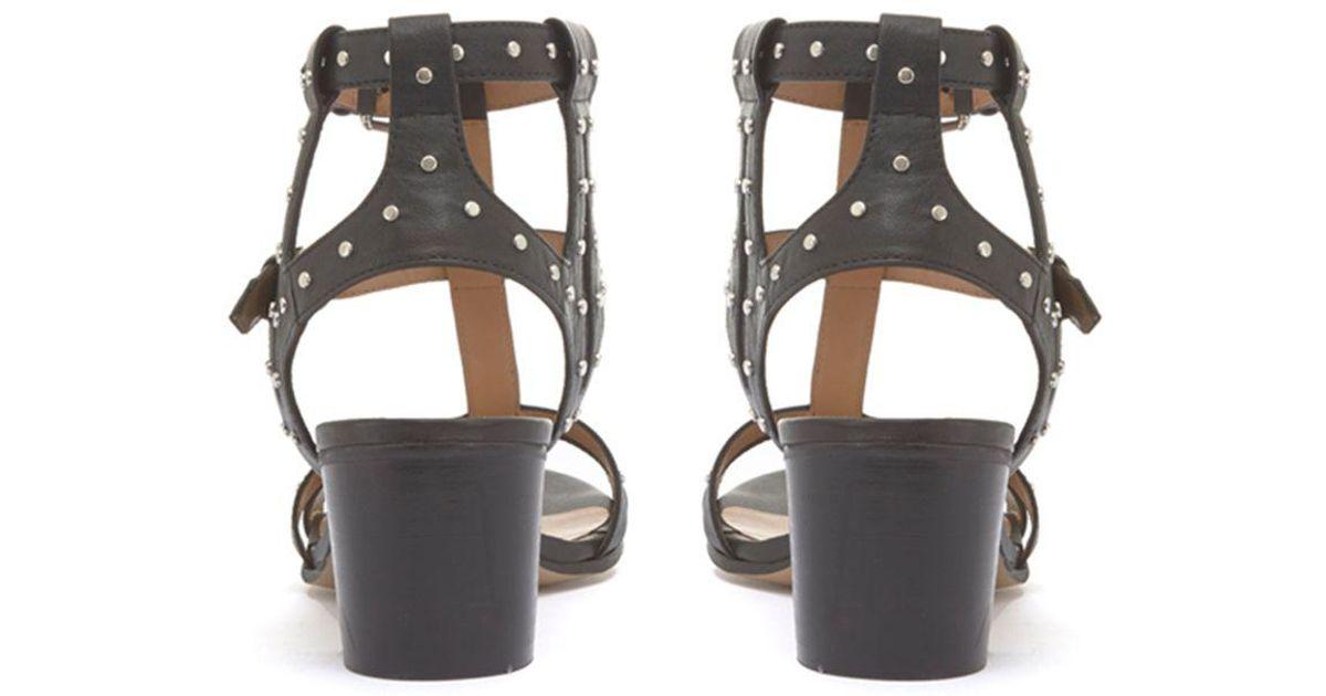 mint velvet black sandals