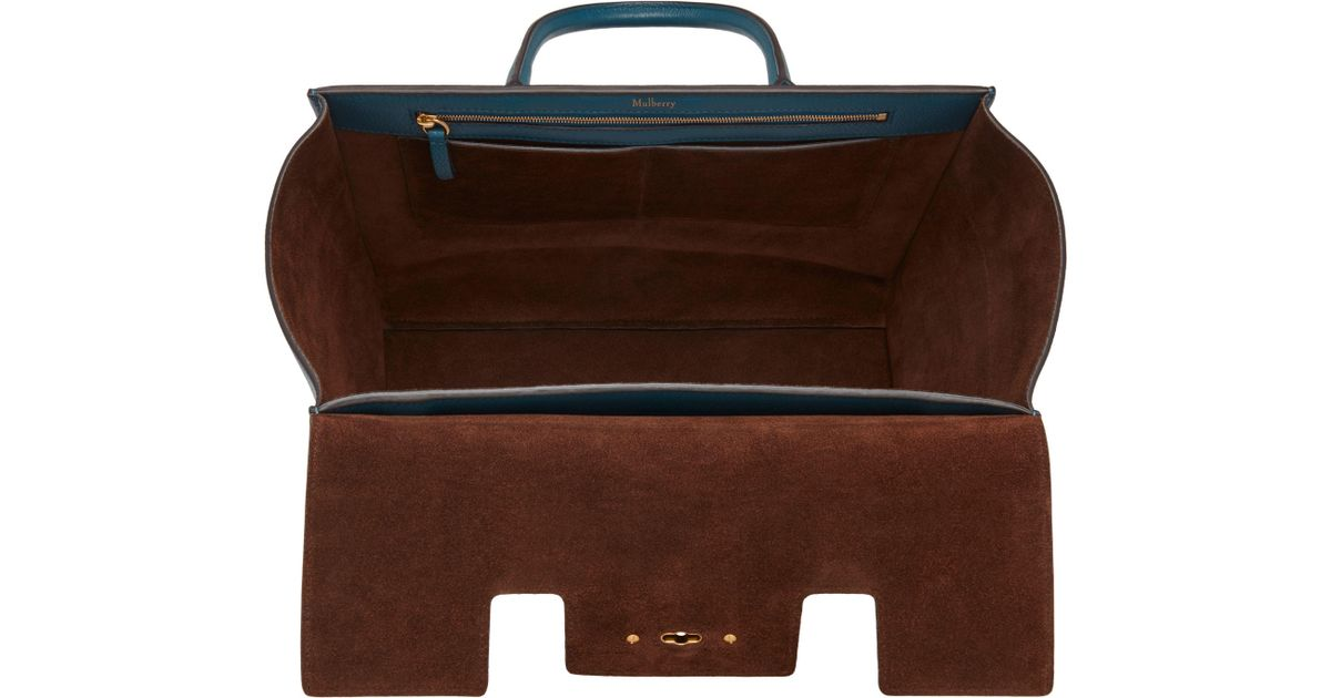 aa16827fe23 John Lewis Mulberry Bayswater Strap Small Classic Grain Bag - Lyst