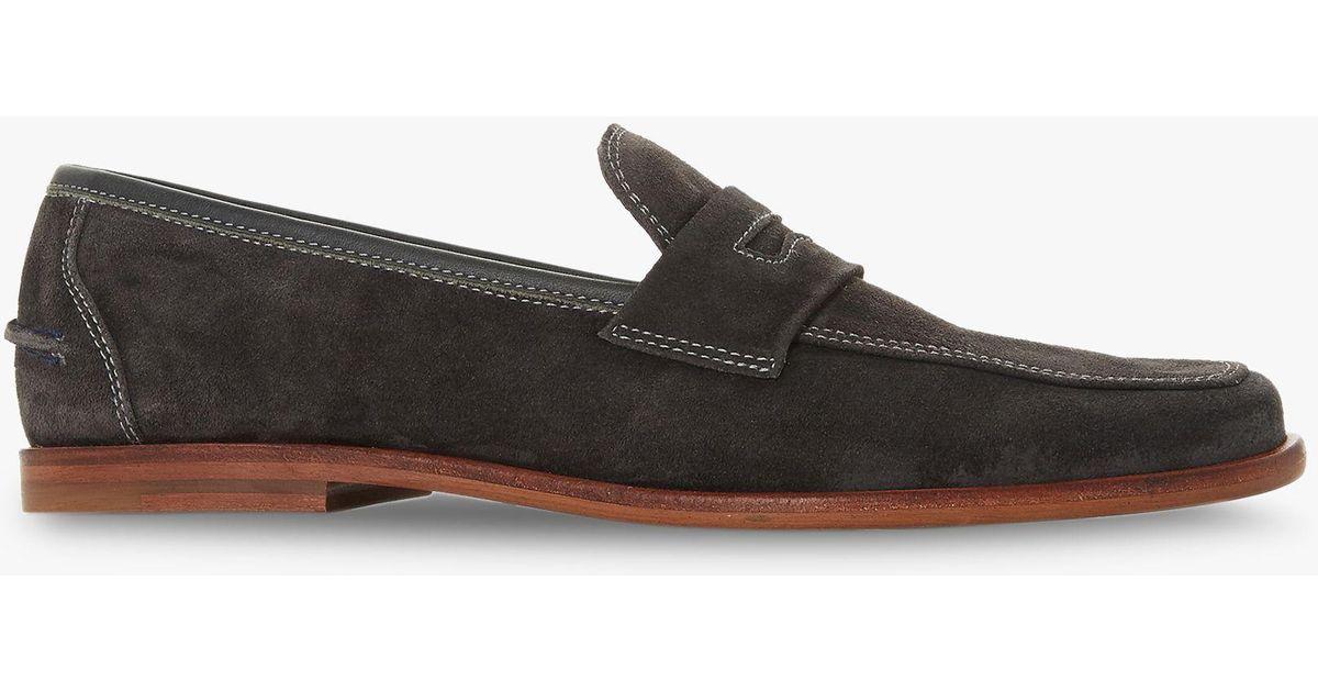 74c7102b274 Bertie Grey  soho  Penny Loafers in Gray for Men - Lyst