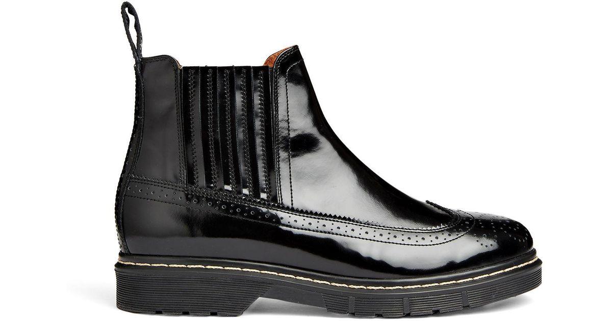 e6c8d95da2d Joseph Black Stil Lux Brogue Boots