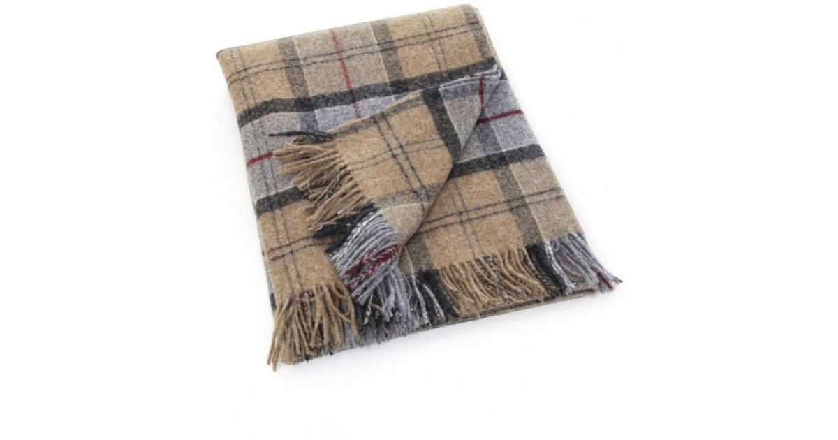 Barbour Wool Picnic Rug in Gray - Lyst
