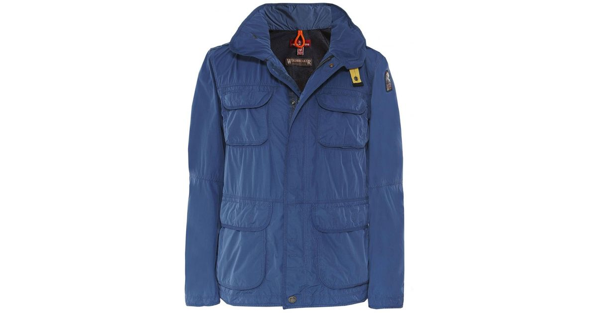 Lyst - Parajumpers Water Resistant Desert Windbreaker Jacket in Blue for Men