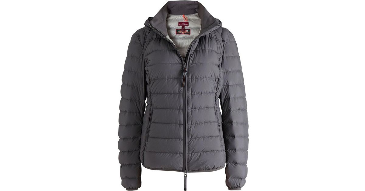 5b5ffa5a ... best price lyst parajumpers juliet super lightweight down jacket in  gray for men bdcdb 74422