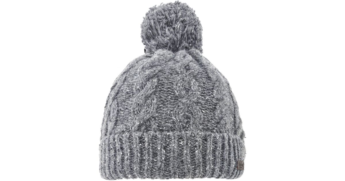 95033ae2c0f Barbour Wool Seaton Beanie Hat in Gray for Men - Lyst
