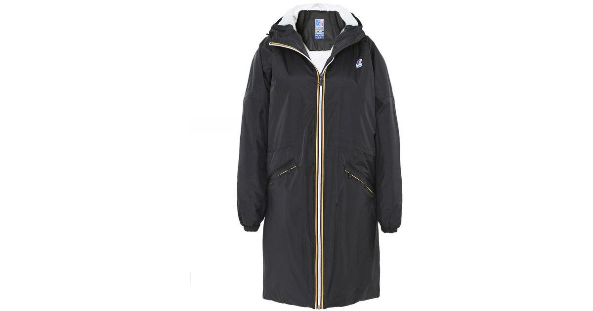 Le Vrai 3.0 Celine Orsetto Jacket K Way en coloris Black