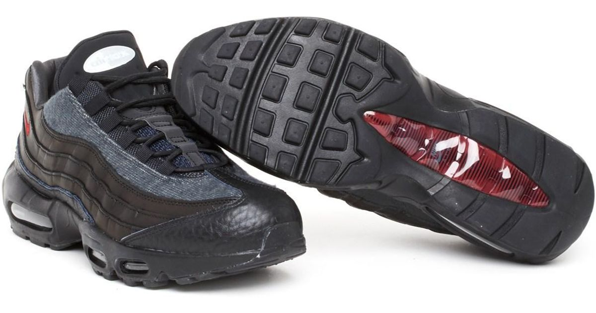 sale retailer bbaad c4874 Nike  air Max 95 Nrg  jacket Pack  Sneakers in Black for Men - Lyst
