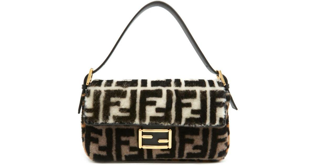 dc152a25cb93 Lyst - Fendi  baguette  Shoulder Bag in Brown