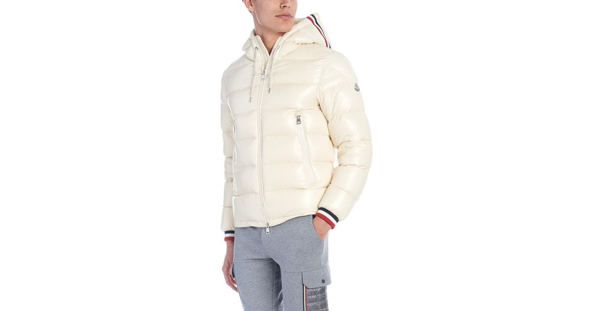 4cd9ae5c7 Moncler - White 'alberic' Down Jacket for Men - Lyst