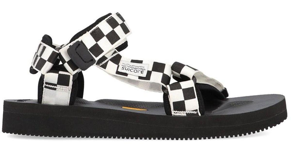 15f18d9bf1d4 Lyst - Suicoke  depa  Sandals in Black for Men