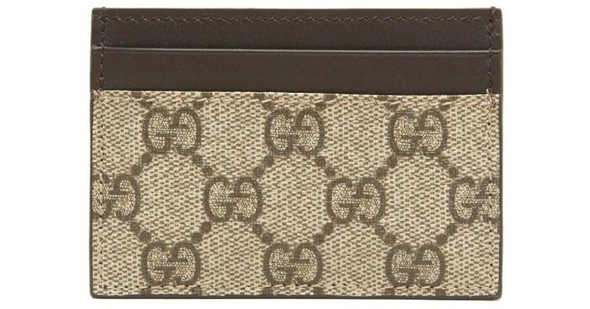 5a8fe69d00 Gucci Multicolor Money Clip Cardholder for men
