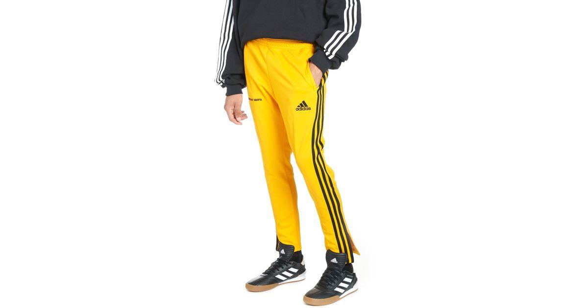 timeless design 7d362 2f51c Gosha Rubchinskiy Yellow 'adidas Training' Sweatpants for men