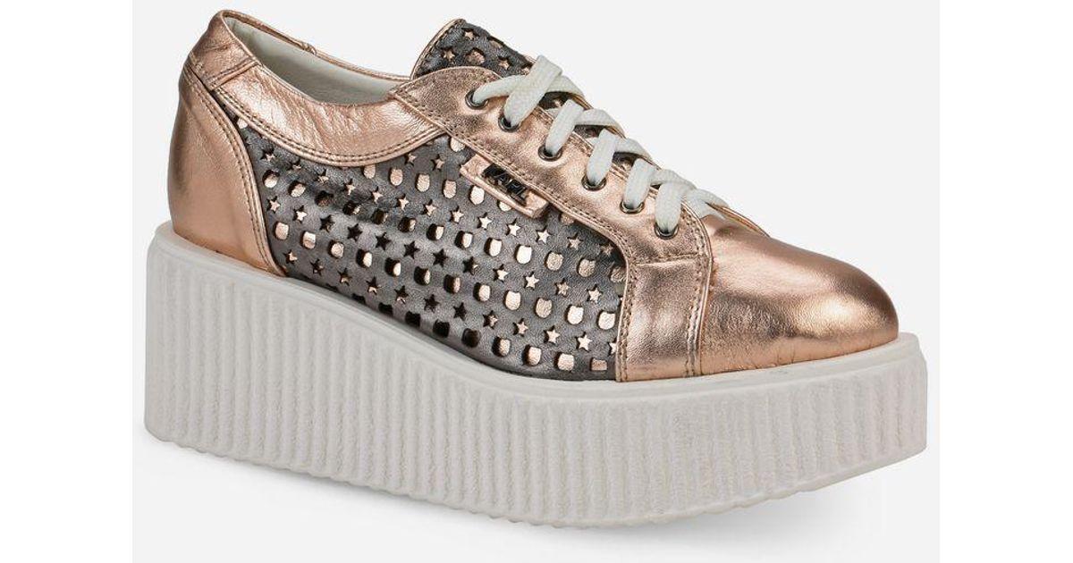 Kreeper Kameo Kut-Out sneakers - Metallic Karl Lagerfeld 1rLWEqvl