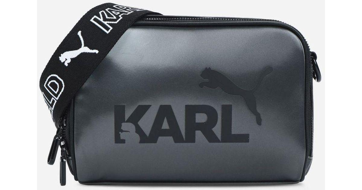 Karl Lagerfeld Black Puma X Karl Bag