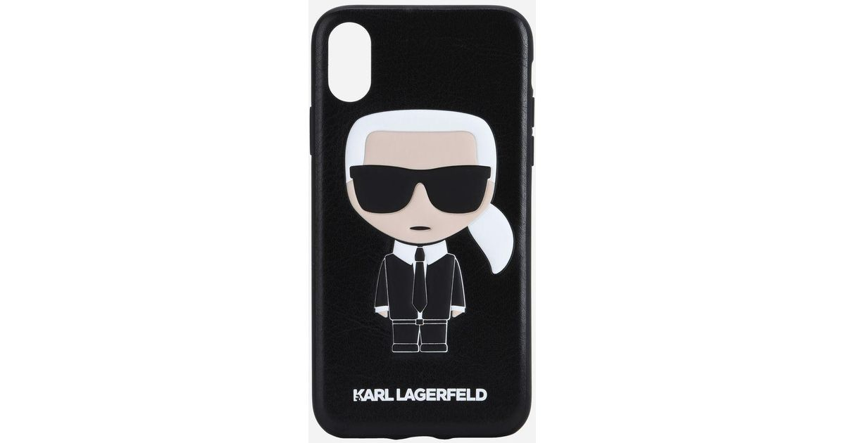 e8917b3c Karl Lagerfeld Black K/ikonik Karl Iphone X Case